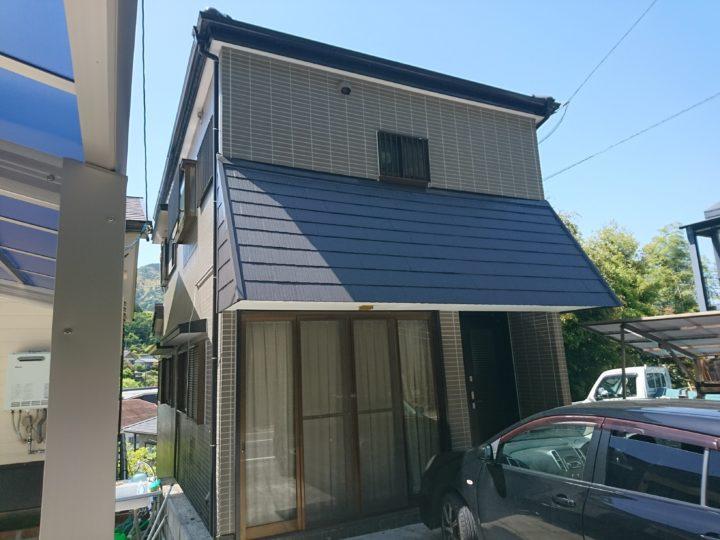 高知市神田 y様邸 外壁屋根塗装工事