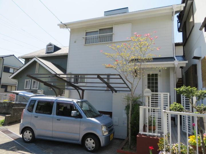 高知市長尾山 m様邸 屋根塗装 外壁塗装工事