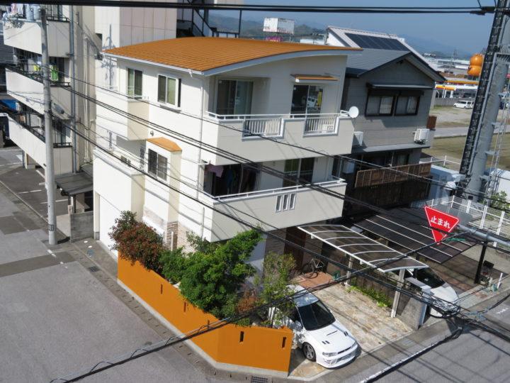 高知市札場 m様邸 屋根塗装 外壁塗装工事