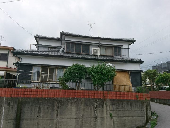 高知市瀬戸 k様邸 屋根塗装 外壁塗装工事