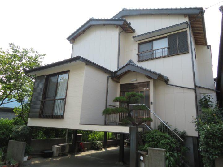 高知市横浜 k様邸 外壁屋根鉄骨塗装工事