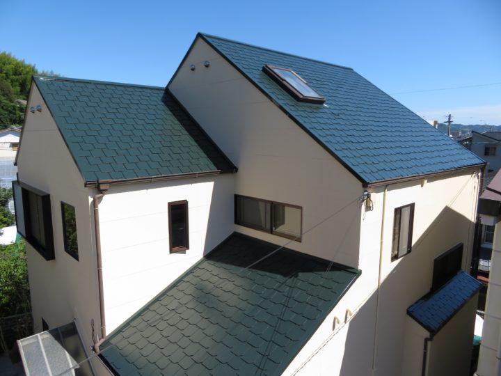 高知市薊野 s様邸 屋根塗装 外壁塗装工事
