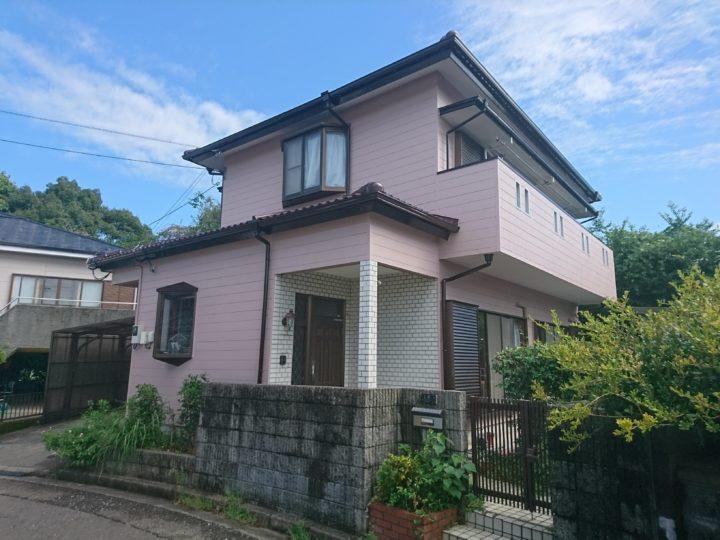高知市横浜 u様邸 屋根外壁塗装工事