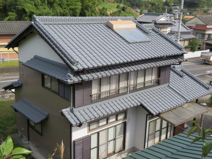 土佐市 k様邸 屋根塗装 外壁塗装工事