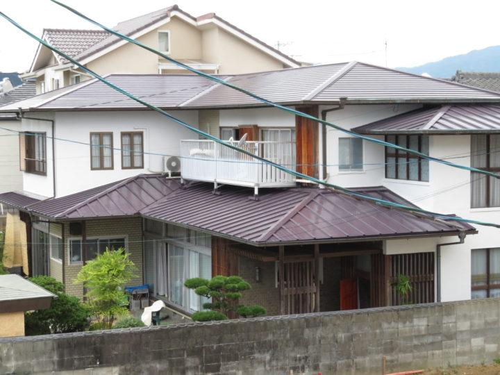 高知市比島町 t様邸 屋根外壁塗装工事