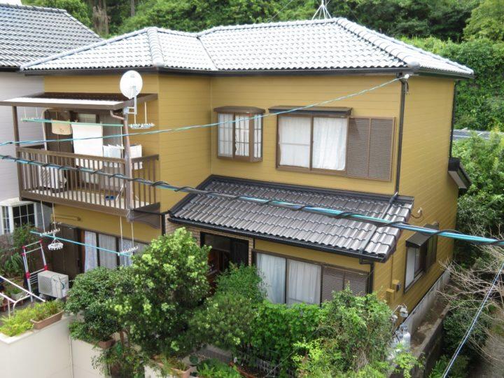 高知市鳥越 i様邸 屋根葺き替え 外壁塗装工事