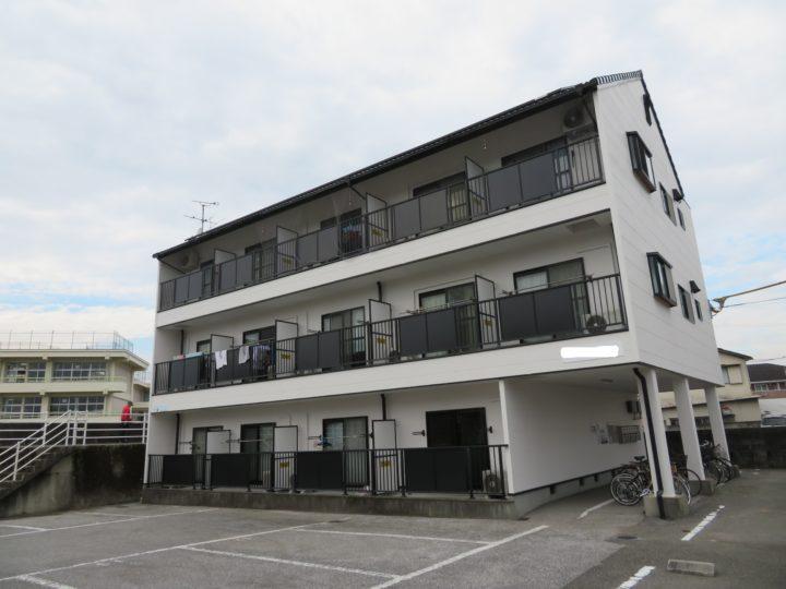 高知市大津 kマンション 屋根塗装 外壁塗装工事