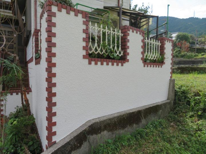 高知市孕西町 i様邸 塀塗装工事