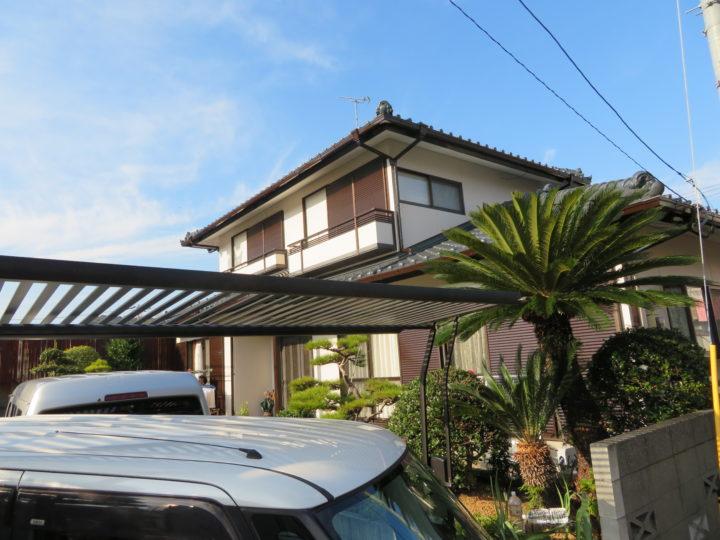 高知市百石町 k様邸 屋根塗装 外壁塗装工事