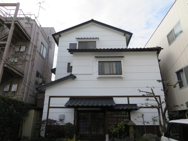 高知市九反田 k様邸 屋根塗装 外壁塗装工事