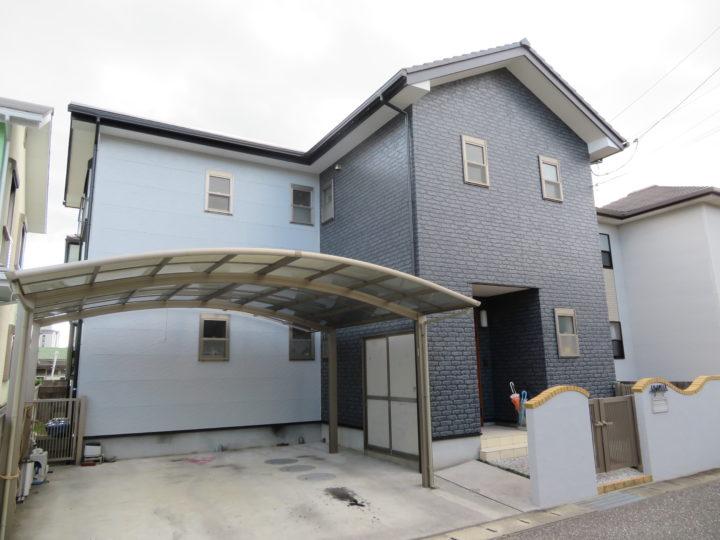 香南市 k様邸 屋根塗装 外壁塗装工事