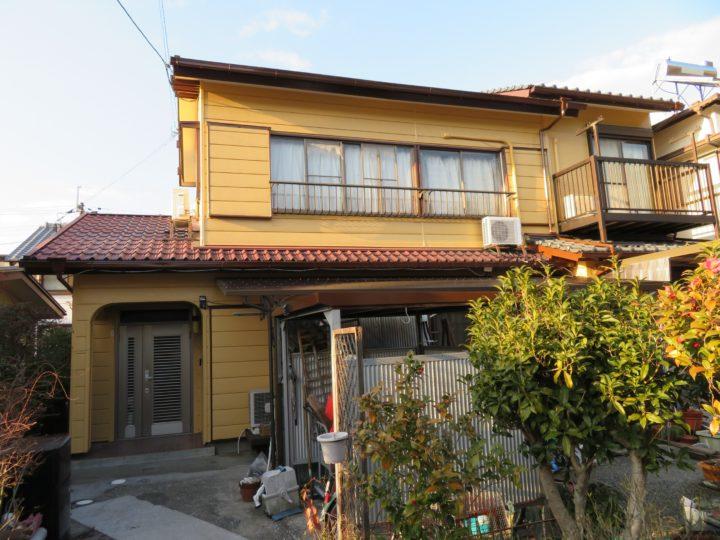 高知市神田 y様邸 外壁塗装工事