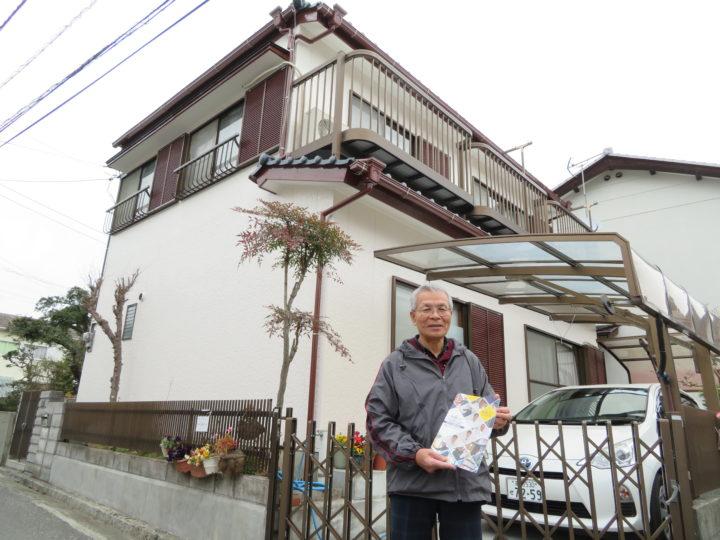 高知市福井町 s様邸 屋根塗装 外壁塗装工事