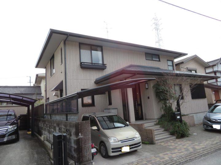 高知市五台山 i様邸 屋根塗装 外壁塗装工事