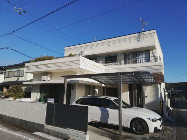 高知市長浜 h様邸 外壁塗装防水工事【雨漏り修理】