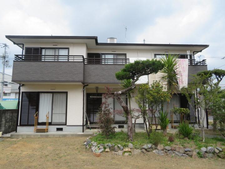 高知市中水道 i様邸 屋根塗装 外壁塗装工事