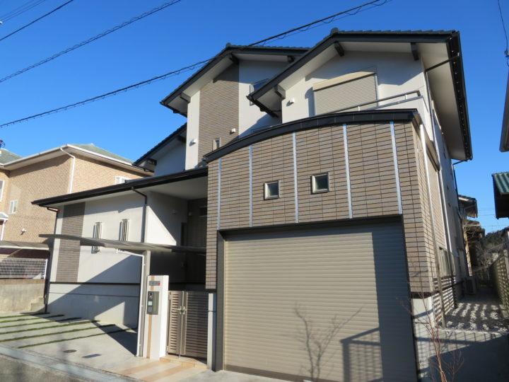高知市みづき u様邸 屋根塗装 外壁塗装工事