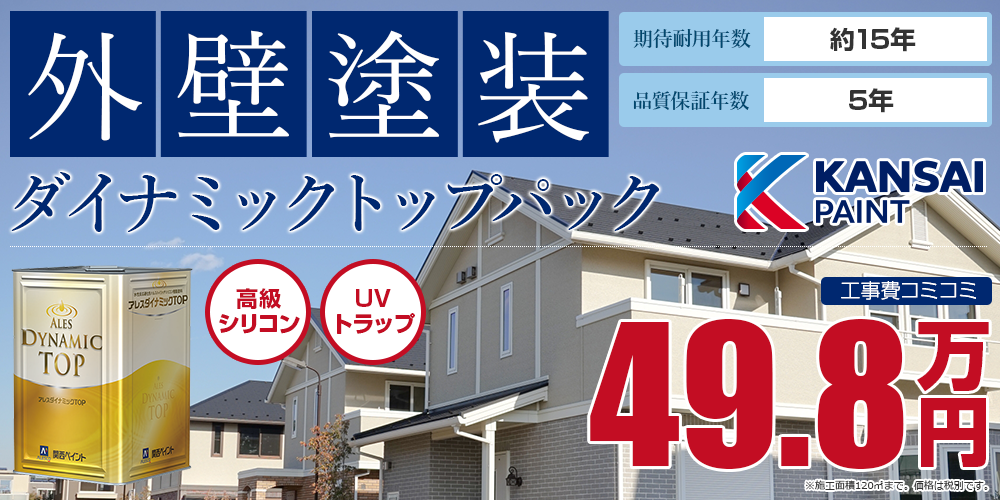 ダイナミックトップパック塗装 49.8万円