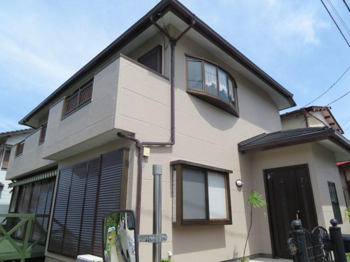 高知市瀬戸 y様邸 外壁塗装工事