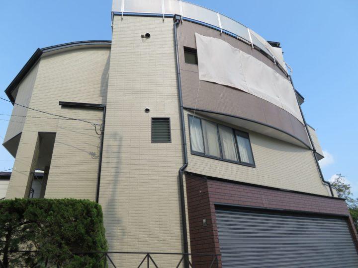 高知市上町 n様邸 屋根塗装 外壁塗装工事