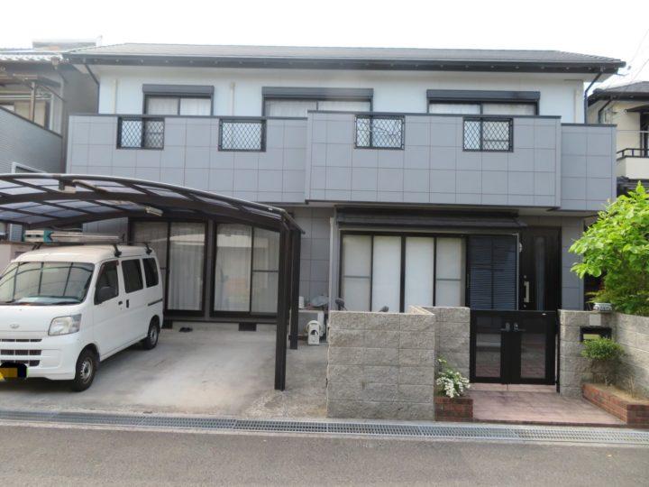高知市神田 n様邸 外壁塗装工事