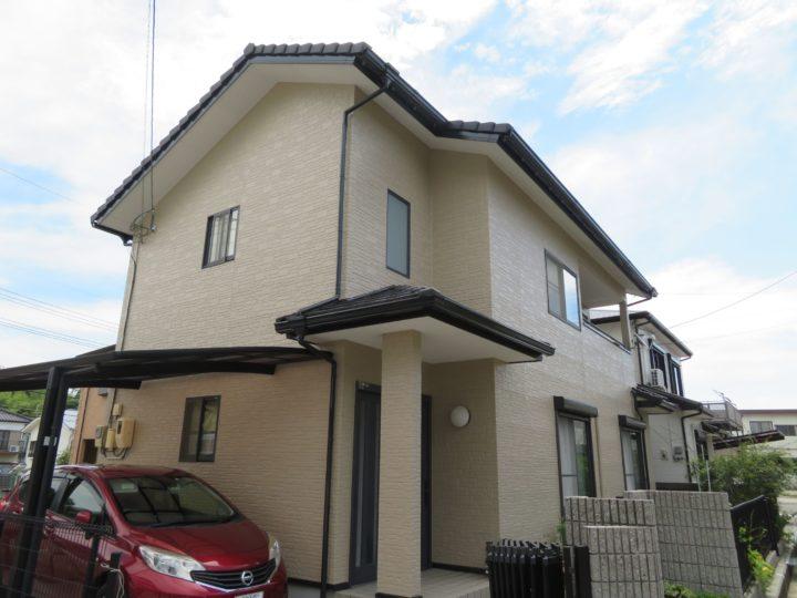 高知市瀬戸 k様邸 外壁塗装工事
