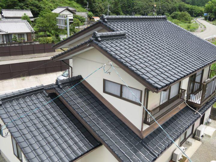高知市春野町 n様邸 屋根塗装工事