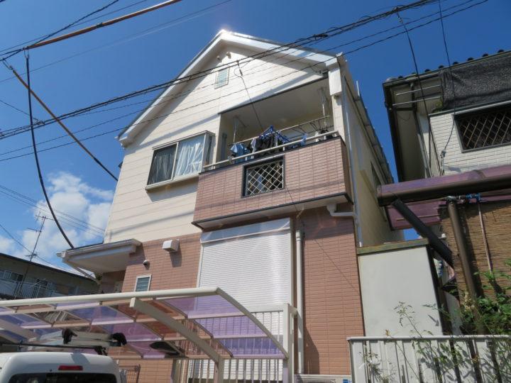 高知市竹島町 e様邸 屋根外壁塗装工事