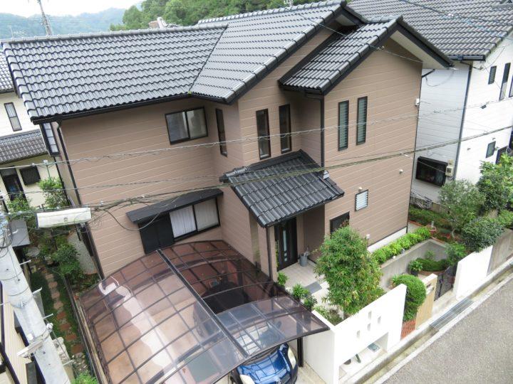 高知市みづき n様邸 外壁屋根塗装工事
