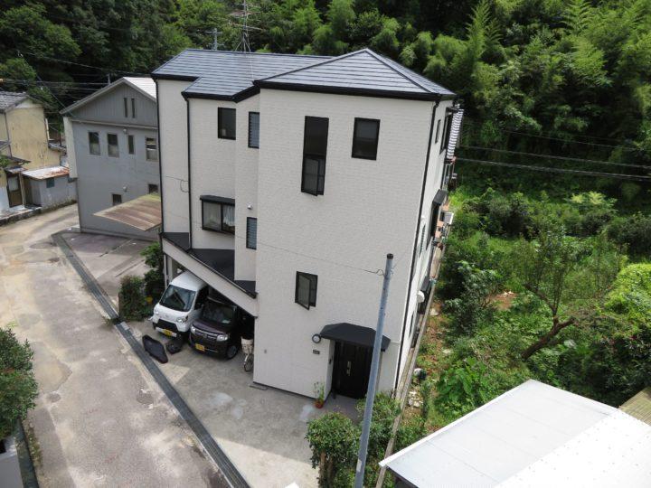 高知市西久万 m様邸 屋根塗装 外壁塗装工事