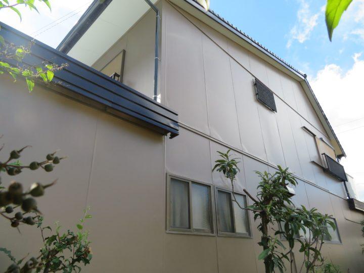 高知市竹島町 y様邸 屋根外壁塗装工事
