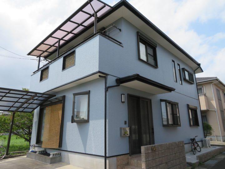 高知市薊野 d様邸 屋根塗装 外壁塗装工事