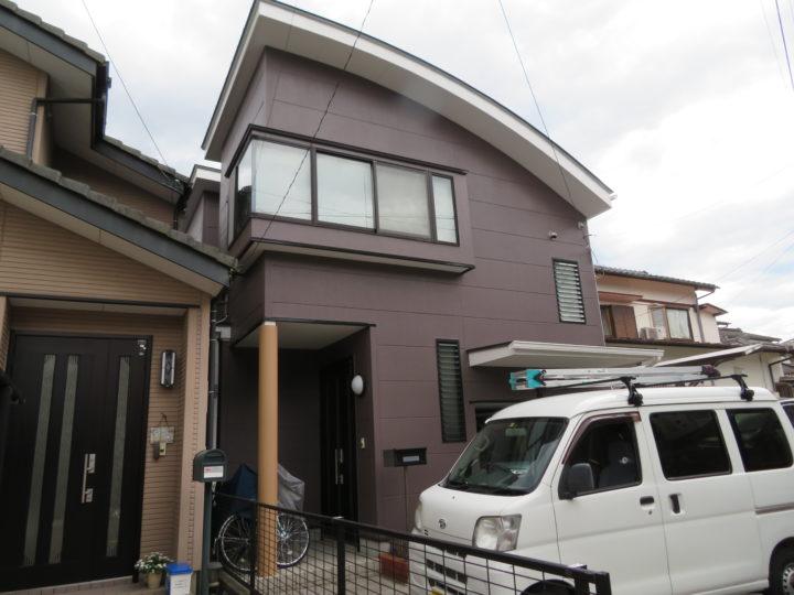 高知市福井町 m様邸 屋根外壁塗装工事