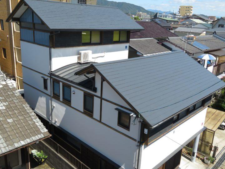 高知市昭和町 f様邸 屋根塗装 外壁塗装工事