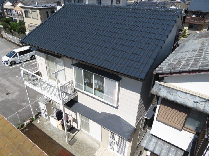 高知市大津 h様邸 屋根塗装 外壁塗装工事