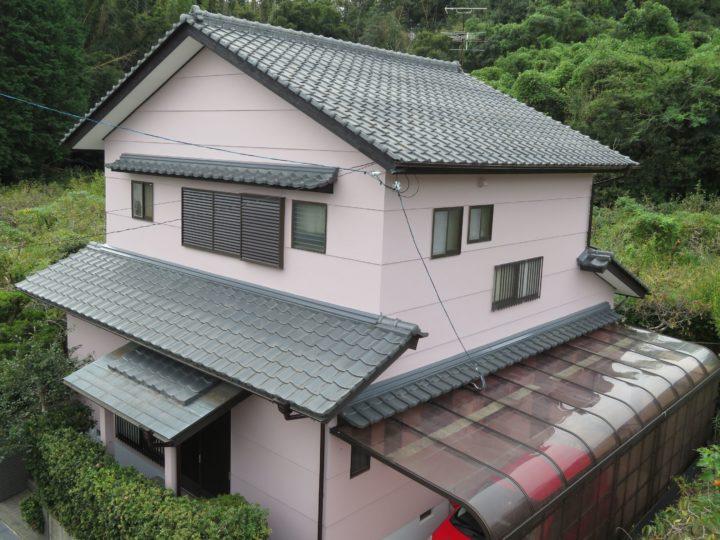 高知市横浜 k様邸 外壁塗装工事