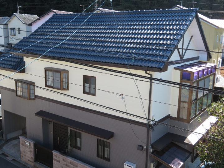 高知市福井町 o様邸 屋根外壁塗装工事