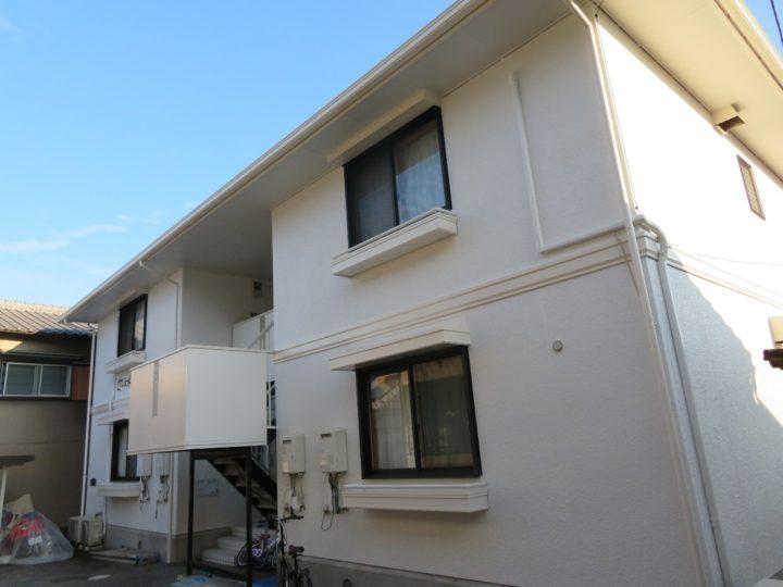 高知市北本町 sアパート様 屋根塗装 外壁塗装工事
