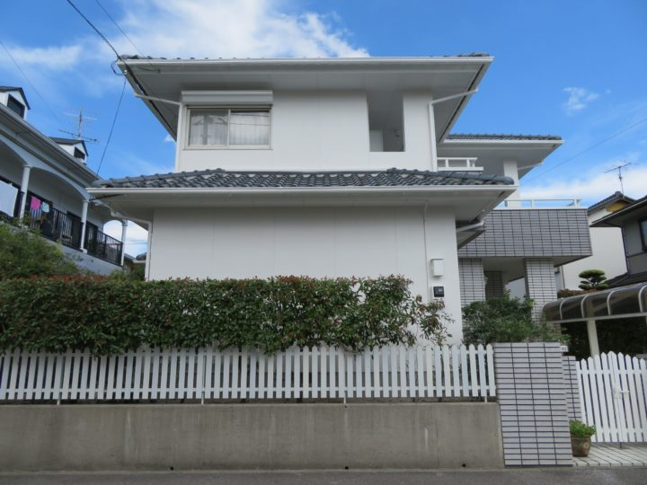 高知市横浜 o様邸 外壁塗装工事