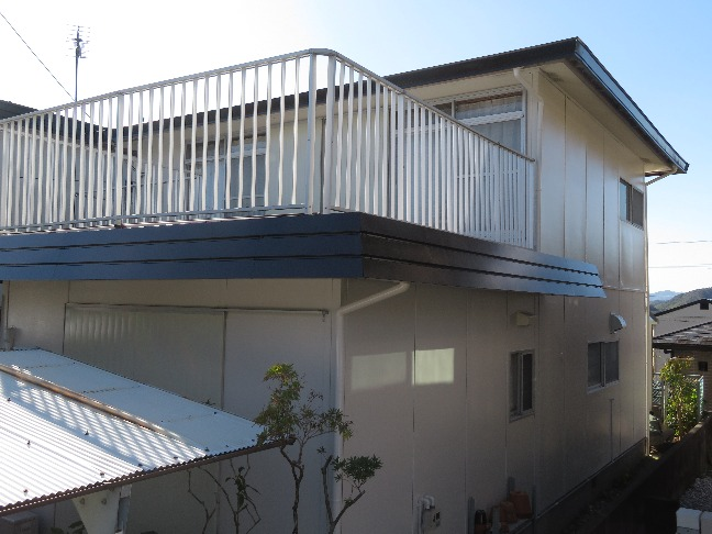 高知市一宮 i様邸 屋根塗装 外壁塗装工事