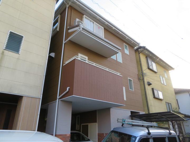 高知市伊勢崎町 y様邸 外壁塗装工事