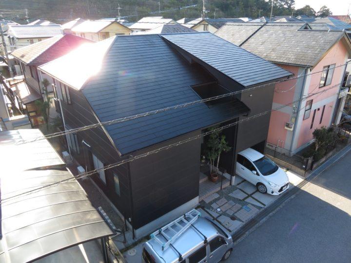 高知市みづき k様邸 屋根外壁塗装工事