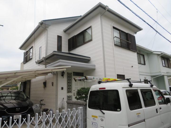 高知市北金田 m様邸 外壁塗装 屋根塗装工事