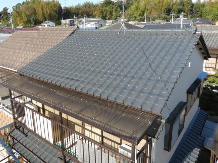高知市鴨部 f様邸 屋根塗装 外壁塗装工事