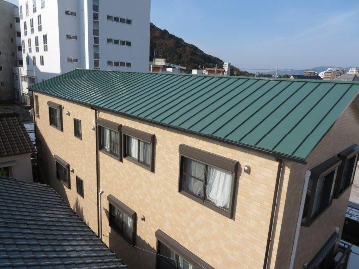 高知市梅ノ辻 y様邸 屋根塗装 外壁塗装工事