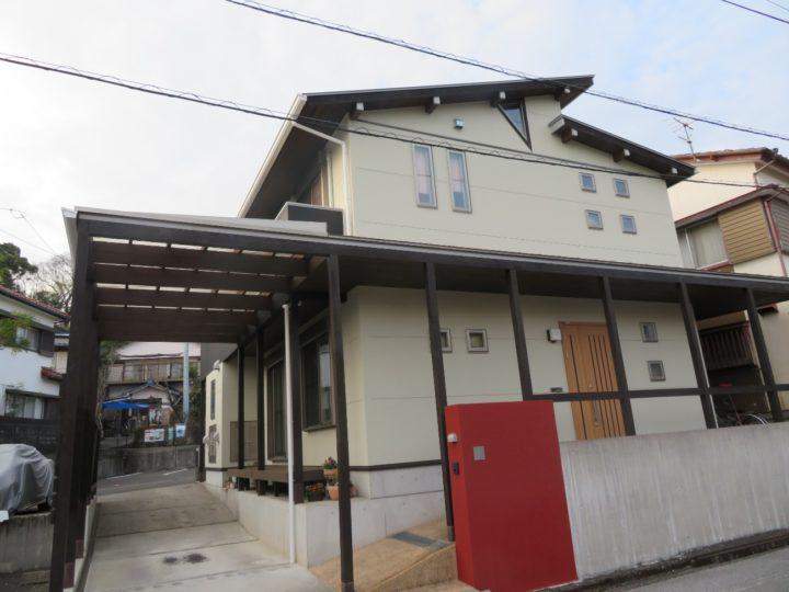 高知市福井町 f様邸 外壁塗装工事