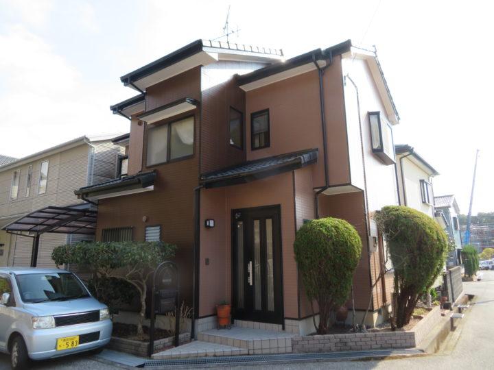 高知市横浜 f様邸 外壁塗装工事