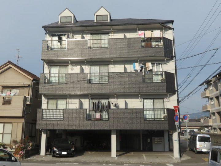 高知市潮新町 マンションt 屋根塗装 外壁塗装工事