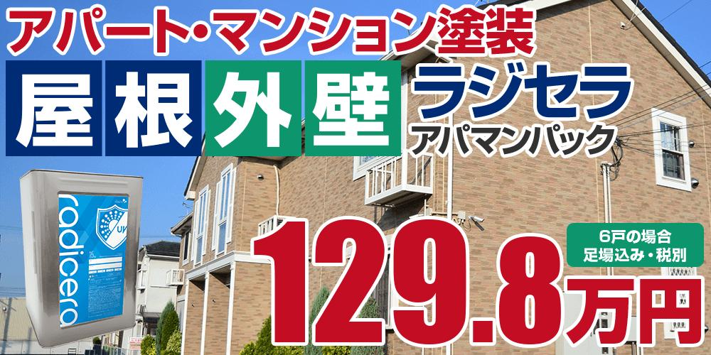 ラジセラアパマンパック塗装 129.8万円
