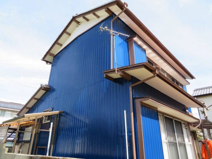 吾川郡いの町 k様邸 外壁塗装工事